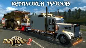 kenworth mud flaps australia euro truck simulator 2 kenworth w900b heavy hauling 82t dump