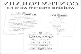 wording of wedding program wording for wedding programs evgplc