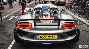porsche spyder 2016 porsche 918 spyder weissach package 27 july 2016 autogespot
