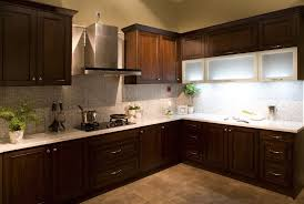 calm yet bold espresso kitchen cabinet picture collections