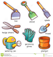 garden tools stock vector image of agriculture shovel 85830866