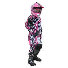 used youth motocross gear wulf wsx 4 girls pink kids off road youth motocross junior mx