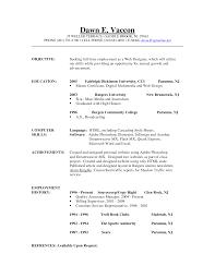 Marketing Resume Objective Sample by Good Job Objectives For Resumes Resume Examples Good Resumes