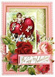 Card For Invitation Or Congratulation With Red Rose In Vintage Cuttlebug Anna U0027s Blog