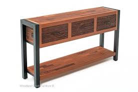 Metal And Wood Sofa Table by Rustic Industrial Sofa Table Modern Rustic Sofa Table Modern Cabin