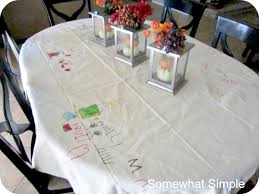 thankful thanksgiving tablecloth tablecloths thankful and