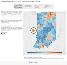 Zip Code Map Columbus Ohio by Geography Of Indiana U0027s Manufacturing Sector Infographics