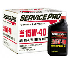 service pro premium heavy duty 15w40 cj 4 engine oil mays shedd