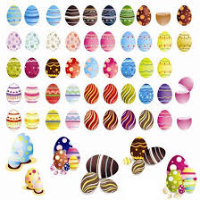 Easter Egg Decoration Vector by Vector Easter Eggs