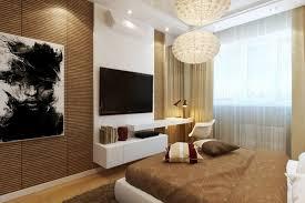 tv dans chambre aménagement chambre utilisation optimale de l espace
