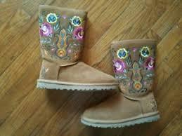 ugg s boots chestnut 200 ugg uggs juliette s boots chestnut brown shearling