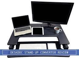 deskdoc premium standing desk converter review
