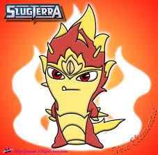 fire elemental slug coloring slugterra skgaleana