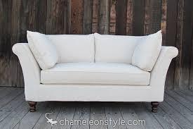 Slipcovered Loveseat Linnea Loveseat Slipcovered Sofa Chameleon Fine Furniture