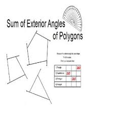 best 25 exterior angle of polygon ideas on pinterest angles of