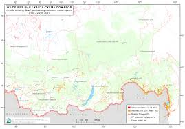 Current Wildfires In Canada by Current Forest Fires In The Russian Federation
