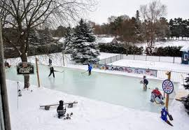 vail valley home backyard hockey rinks range from simple to