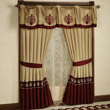 fantastic curtain valance ideas living room bay windows swag and