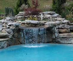 diy pool waterfall pool waterfalls ideas for your swimming pool