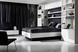 Black Curtains Bedroom Modern Home Bedrooms With Black Curtains