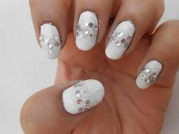 cute nails girly nail art challenge week 2 gimme that bling