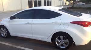 hyundai elantra 2014 white hyundai elantra sedan walkaround exterior review