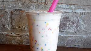 birthday cake drink milk bar u0027s new menu features birthday cake milkshakes and more