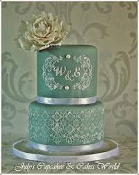 cake monograms what a gorgeous lace cake swoon 3 3 wedding