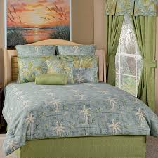 Surfer Comforter Sets Delectably Yours Com Island Song Surf Blue Green Tropical