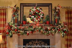 mantel garlands happy holidays
