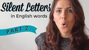 silent letters english pronunciation u0026 vocabulary part 1
