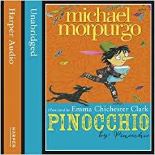 pinocchio michael morpurgo 9780007535460 amazon books