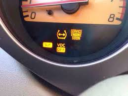 service engine light on nissan what does it mean when service engine soon slip and vdc off