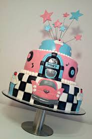 50 s theme cake cakecentral