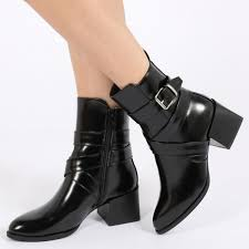 womens boots at kohls footwear pretty black ankle boots with buckles for