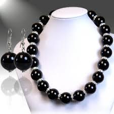 black large necklace images Pearl jpg