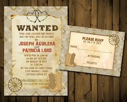 western wedding invitations western wedding invitation templates cloudinvitation