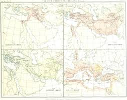 Greek Map Babylon Persian Greek Roman Empires Map U2022 Mappery