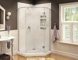 44 Shower Door by Redi Neo Neo Angle Shower Pan 44 X 44 Corner Drain
