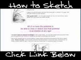 how to sketch well and how to sketch better youtube