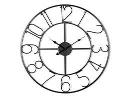 horloges murales cuisine horloge murale métal verre ou bois