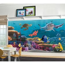 roommates jl1278m finding nemo prepasted mural 6 feet by 10 5 feet roommates jl1278m finding nemo prepasted mural 6 feet by 10 5 feet ultra strippable decorative wall appliques amazon com