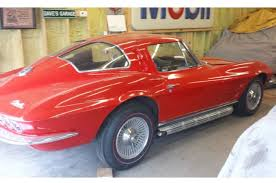what year was the split window corvette made split window 1963 corvette is found