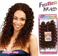 different images of freetress hair synthetic braiding hair deep wave twist crochet braids freetress