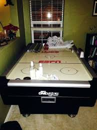 84 air hockey table one timer air hockey table sports outdoors in or espn air hockey