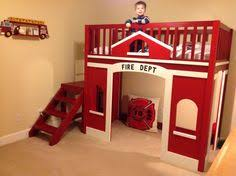 fire station loft bed you can build yourself for when baby is