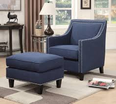 Blue Accent Chairs For Living Room 100 Fabulous Accent Chairs With An Ottoman For 2018