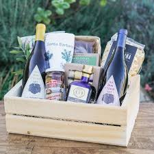 wine delivery gift the wine cook gift crate the santa barbara company