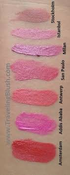 Lipstik Nyx Transylvania nyx soft matte lip creams 18 shades swatched travelingblush