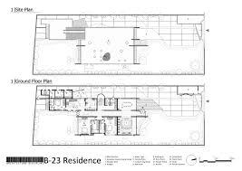 site and ground floor b 23 akshat bhatt architecture